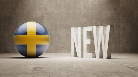 renewed: Sweden New Concept Stock Photo