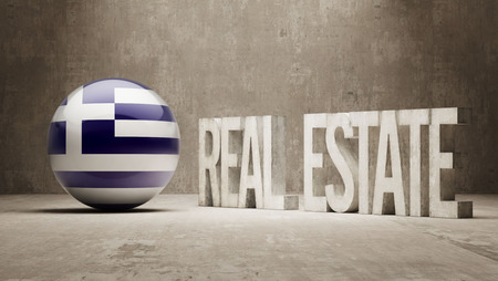 Greece  Real Estate Concept photo