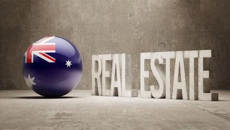 possession: Australia   Real Estate Concept