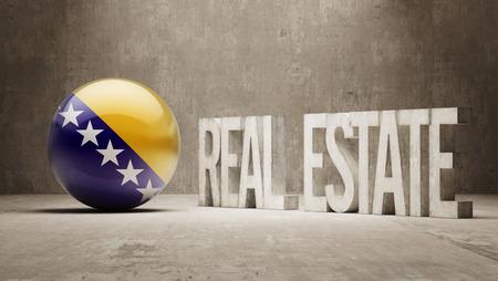 herzegovina: Bosnia and Herzegovina  Real Estate Concept