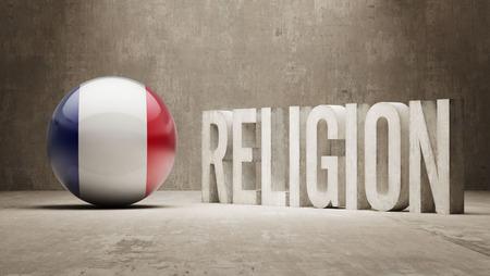 worshipper: France  Religion Concept