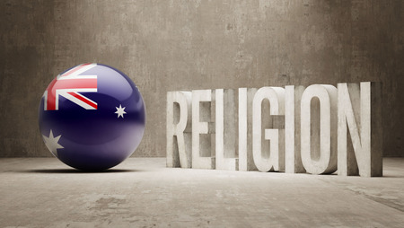 worshipper: Australia  Religion Concept