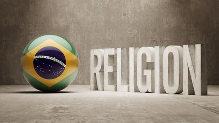 worshipper: Brazil  Religion Concept