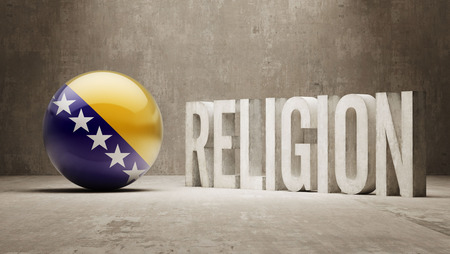 worshipper: Bosnia and Herzegovina  Religion Concept