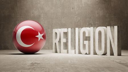 worshipper: Turkey  Religion Concept