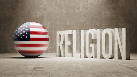 United States  Religion Concept