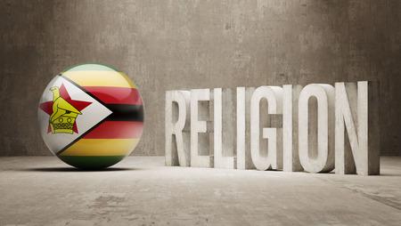 worshipper: Zimbabwe  Religion Concept