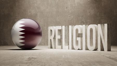 worshipper: Qatar  Religion Concept