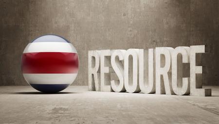 costa rica: Costa Rica  Resource Concept