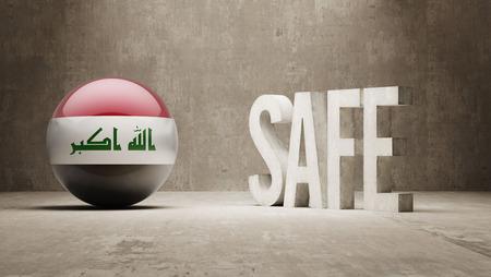 cautionary: Iraq Safe Concept