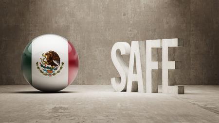 cautionary: Mexico  Safe Concept