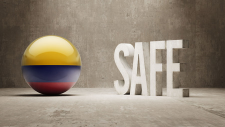 cautionary: Colombia Safe Concept