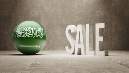 Saudi Arabia High Resolution Sale Concept photo