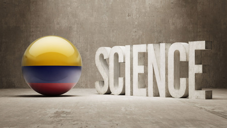 Colombia   Science Concept Stock Photo - 27275819