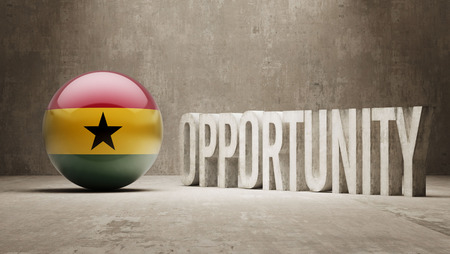 opportunity concept: Ghana  Opportunity Concept