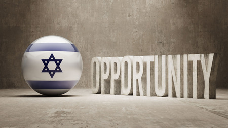 opportunity concept: Israel Opportunity Concept