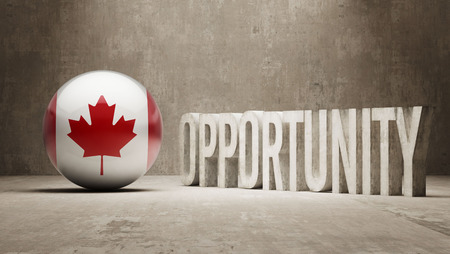 opportunity concept: Canada  Opportunity Concept