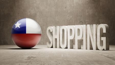 consumerist: Chile    Shopping concept