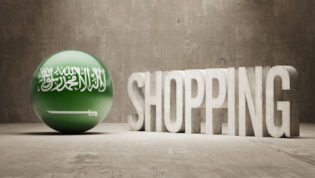 consumerist: Saudi Arabia Shopping concept