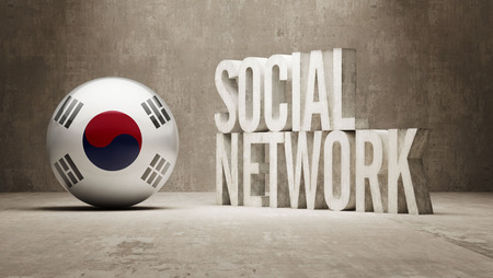 Corea del Sur Red Social photo