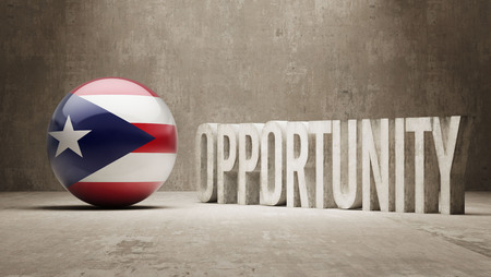 opportunity concept: Puerto Rico   Opportunity Concept