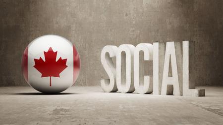 societal: Canada Social Concept