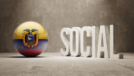 convivial: Ecuador  Social Concept