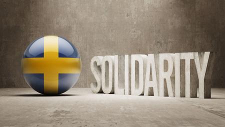 Sweden  Solidarity Concept photo