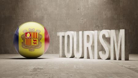 tourism in andorra: Andorra Tourism Concept