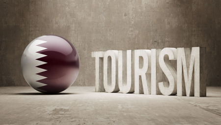 Qatar  Tourism Concept photo
