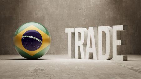 Brazil Trade Concept