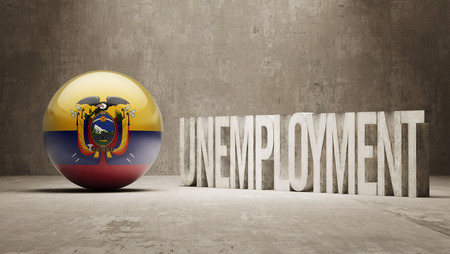 Ecuador   Unemployment Concept photo
