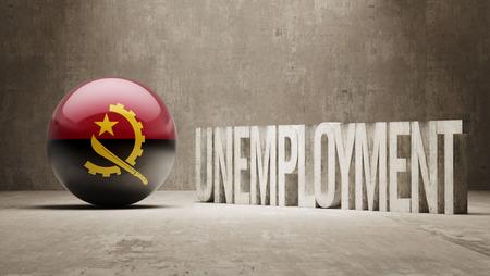 Angola   Unemployment Concept photo