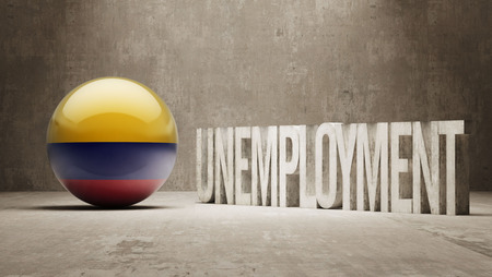 Colombia   Unemployment Concept photo