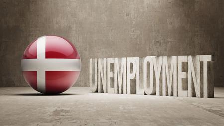 Denmark   Unemployment Concept photo