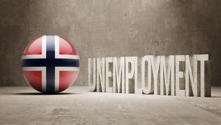unemployment: Norway   Unemployment Concept
