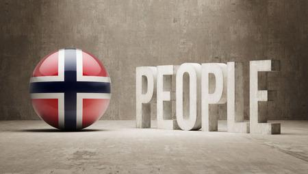 humane: Norway  People Concept