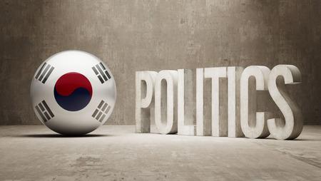 South Korea   Politics Concept photo