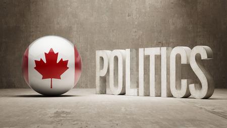 Canada   Politics Concept