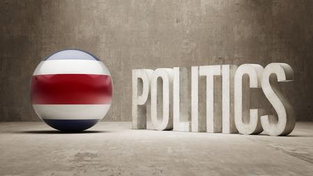 costa: Costa Rica  Politics Concept