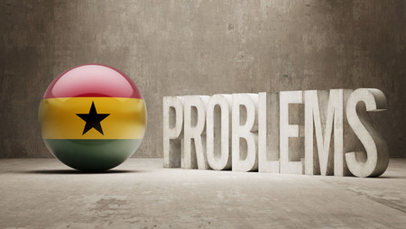 Ghana   Problems Concept photo