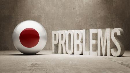 rectify: Giappone Problemi Concetto Archivio Fotografico