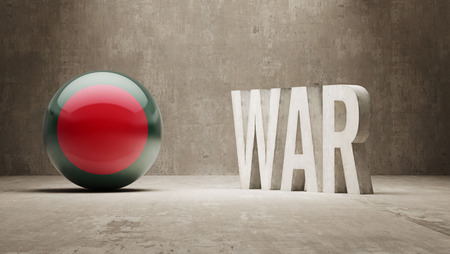tussle: Bangladesh War Concept