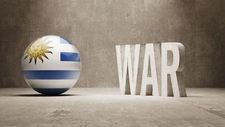 tussle: Uruguay   War Concept