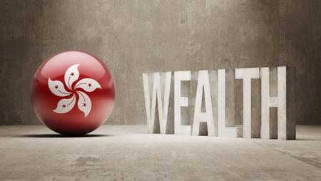 weal: Hong Kong   Wealth Concept