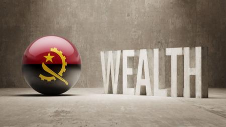 Angola Wealth Concept