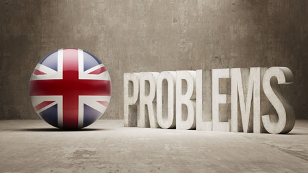 rectify: United Kingdom Problems Concept