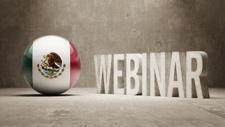 webinar: Mexico Webinar Concept