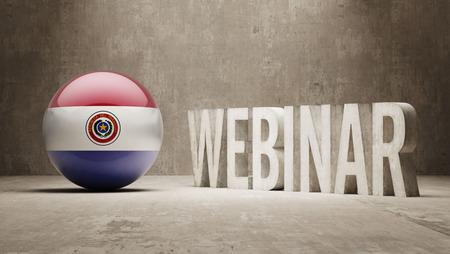 Paraguay  Webinar Concept photo
