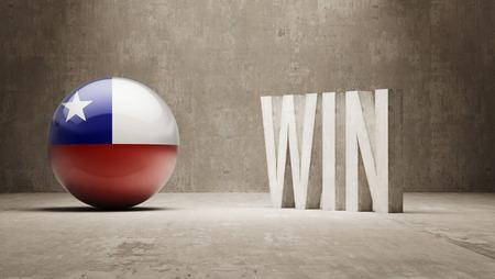 Chile  Win Concept photo